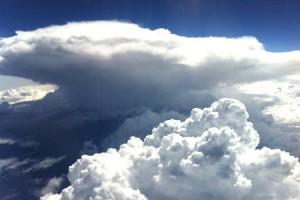 Bewolking wolkenradar onweersvoorspelling Aambeeld