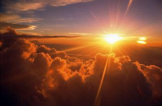 zon op zon onder