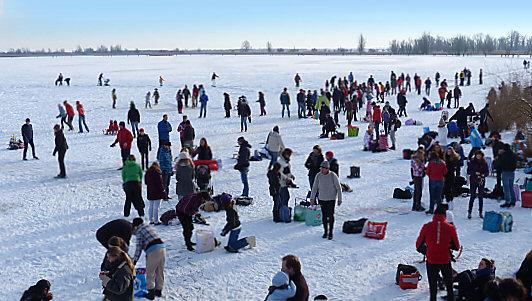 weerbericht winter schaatsen oostenwind
