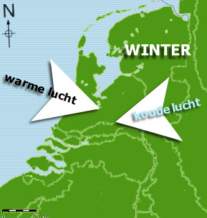 wolkenradar weer winter-windrichting